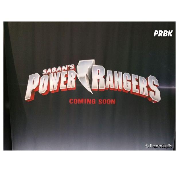 """Recentemente, """"Power Rangers"""" ganhou a sua primeira logo"""