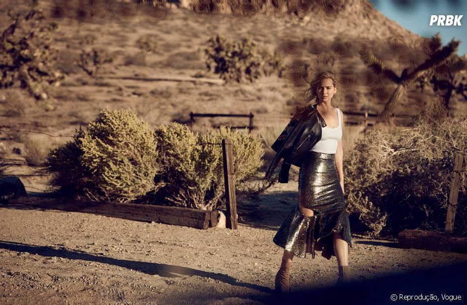 Jennifer Lawrence diz que não tirou nada de bom após ter