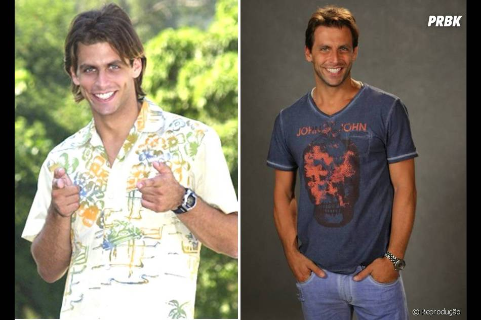 """O bonitão Henri Castelli participou da nona temporada de """"Malhação"""", exibida em 2002. O ator viveu o protagonista Pedro"""