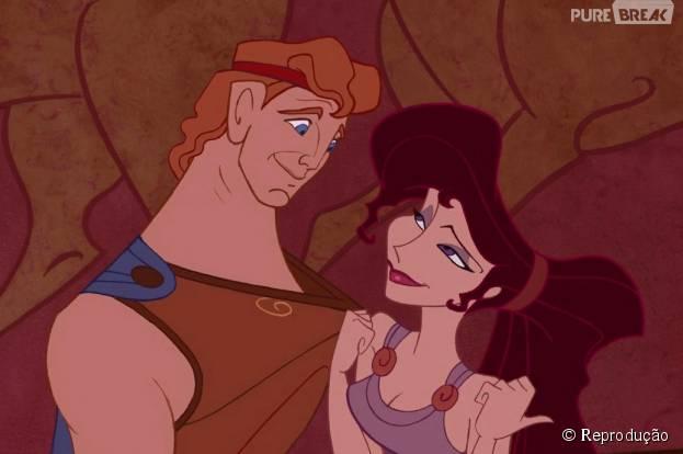 """Hércules e Mégara, do famoso desenho da Disney, vão entrar em """"Once Upon a Time""""!"""