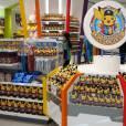 """Boa parte da infraestrutura da """"Pokémon Expo Gym"""" foi montada para comercializar produtos"""