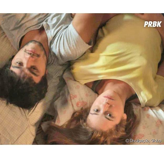 """Em """"Totalmente Demais"""": Eliza (Marina Ruy Barbosa) e Jonatas (Felipe Simas) dormem de conchinha e mãe do jovem apoia namoro!"""