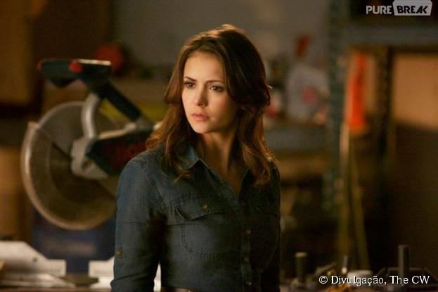 """Em """"The Vampire Diaries"""", quem leva o prêmio de chatinha é Elena (Nina Dobrev)!"""