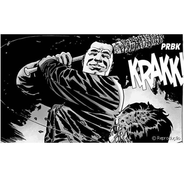"""Em """"The Walking Dead"""": na 5ª temporada, Negan (Jeffrey Dean Morgan) aparece pela primeira vez em vídeo vazado!"""