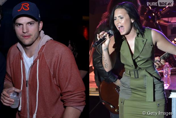 "Demi Lovato agrada Ashton Kutcher com cover de ""Hello"", da Adele"