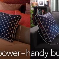Power Pillow, uma almofada com bateria que recarrega seus gadgets
