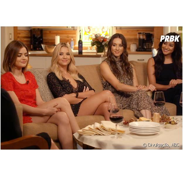 "Em ""Pretty Little Liars"": confira tudo que rolou no episódio especial ""5 Years Forward""!"