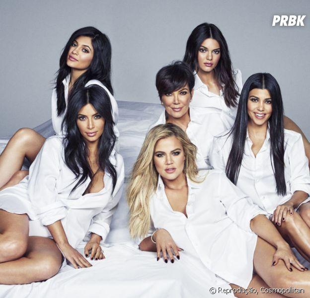 Com Kim Kardashian e Kendall Jenner, veja 7 motivos pra querer ser parte do clã Kardashian/Jenner!