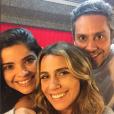 """Giovanna Antonelli vive compartilhando fotos ao lado dos colegas de """"A Regra do Jogo"""""""