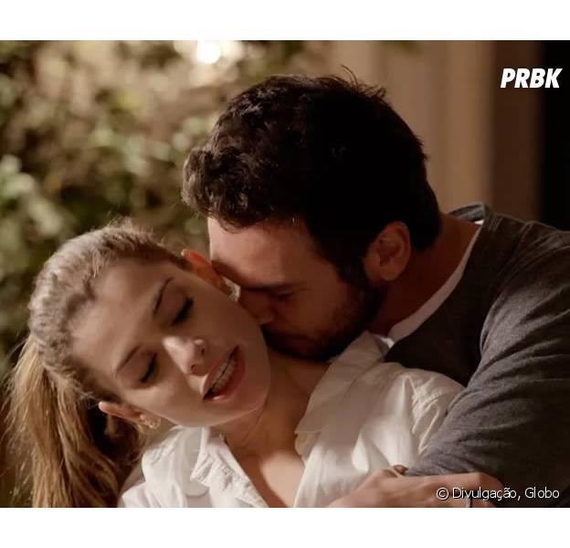 """Em """"Além do Tempo"""", Lívia (Alinne Moraes) termina noivado com Pedro (Emílio Dantas)!"""