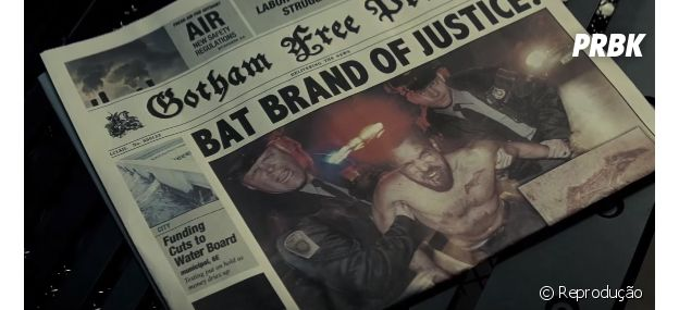 """Batman marcou o bandido no ombro, no trailer de """"Batman Vs Superman: A Origem da Justiça""""?"""
