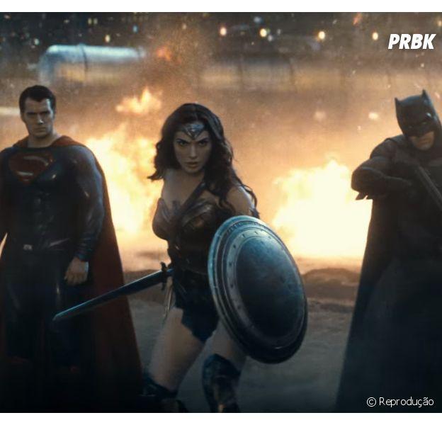 """Mulher-Maravilha (Gal Gadot) está pronta para a batalha em novo trailer de """"Batman Vs Superman - A Origem da Justiça"""""""