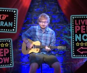 """Ed Sheeran faz """"peep show"""" a dois reais na Austrália"""
