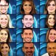 """Os candidatos ao prêmio de R$ 1,5 milhão do """"BBB"""", já estão confinados, desde a tarde desta terça-feira, 14 de janeiro de 2013"""