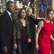 """Em """"Arrow"""": na 4ª temporada, Oliver corre para resgatar Felicity de Darhk no último episódio de 2015"""