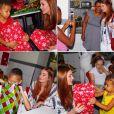 Marina Ruy Barbosa separou uma série de presentes e distribuiu para crianças carentes. Linda, não?