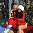 Kylie Jenner até já se vestiu de Mamãe Noel para esperar o bom velhinho!