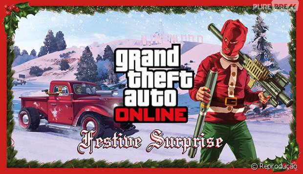 """Game """"GTA Online"""" recebe autalização de Natal"""