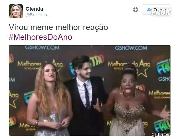"""Ludmilla rendeu memes ao ganhar uma categoria do """"Melhores do Ano 2015"""""""