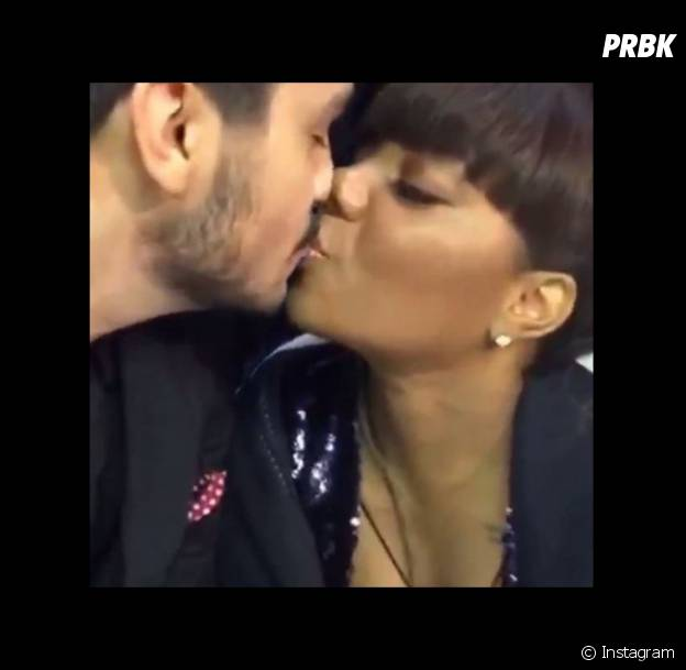 Luan Santana e Ludmilla se beijam no Prêmio Multishow 2015 e momento vai parar no Instagram