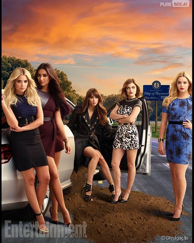 """Será que """"Pretty Little Liars"""" terá o fim na sétima temporada? Produtoda Executiva dá revelação bombástica!"""