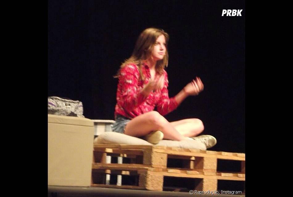 """Alice Wegmann reestreia no teatro com a peça """"Conto de Verão"""""""
