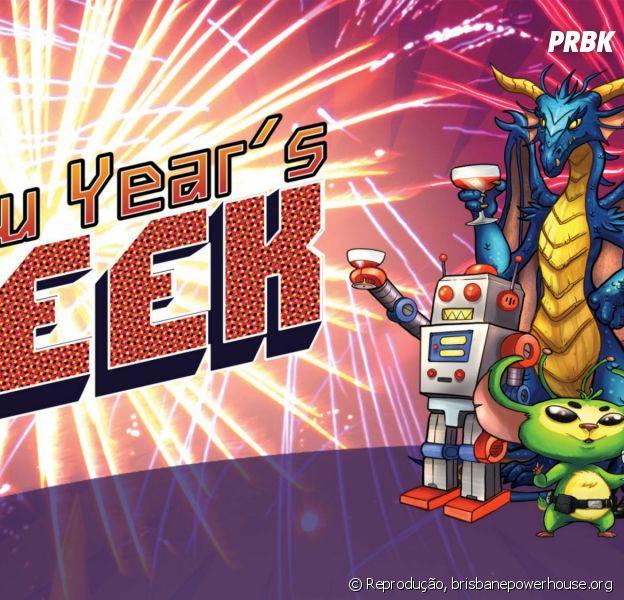 O Ano Novo dos nerds: resoluções que vão combinar com essa galera