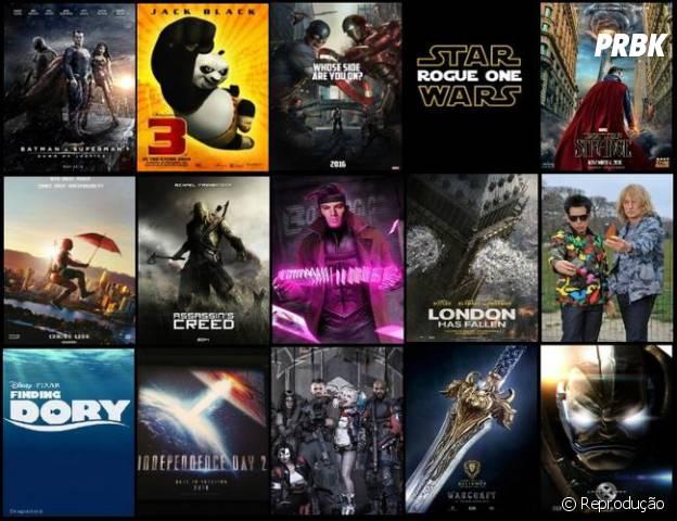 Os principais lançamentos geek do cinema para 2016 estão imperdíveis