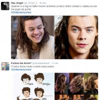 Harry Styles, do One Direction, bomba no Twitter com hashtag sobre seu cabelo!