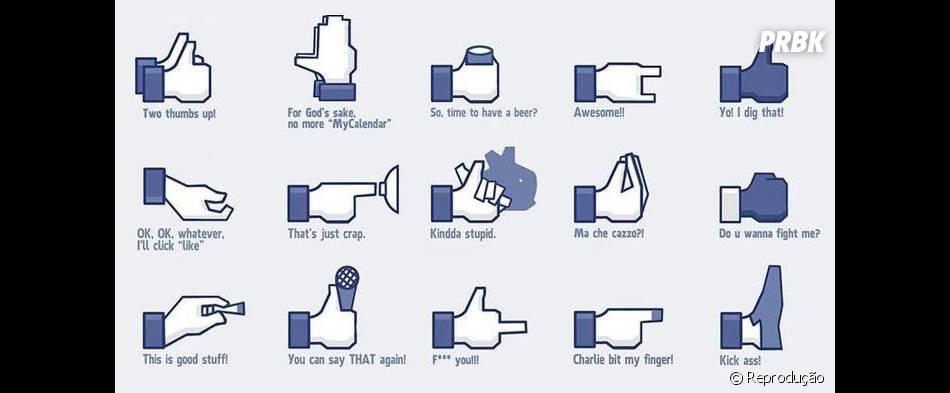 """O """"Trending"""" é legal, mas esses botões alternativos para o Facebook seriam ótimos também!"""