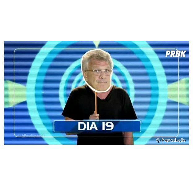 """Do """"BBB16"""", Pedro Bial aparece mascarado em nova chamada! Confira memes"""