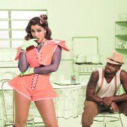 """Anitta encarna """"maluca-beleza"""" em primeira foto do clipe de """"Essa Mina É Louca"""", com Isis Valverde"""