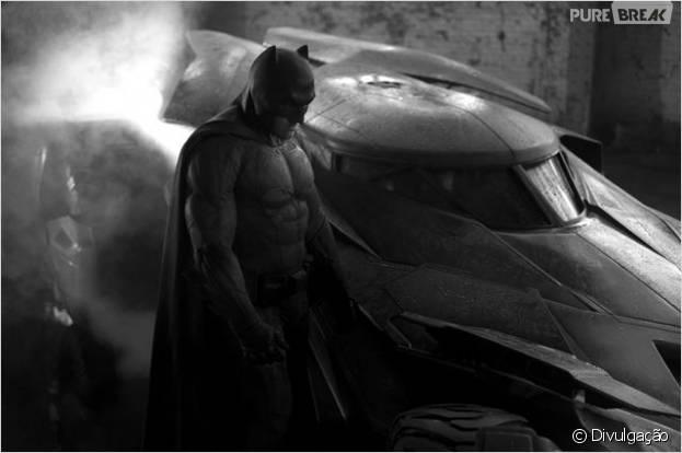 """Ben Affleck, de """"Batman V Superman"""", vai aparecer em """"Esquadrão Suicida"""""""