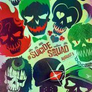 """De """"Esquadrão Suicida"""": personagens ganham emblemas em novos cartazes divulgados antes do trailer"""