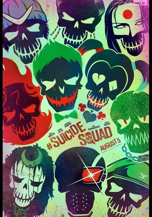 """""""Esquadrão Suicida"""" ganhou novos cartazes incríveis"""