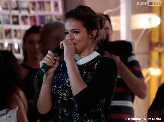 """Bruna Marquezine se emociona ao falar sobre papel principal na novela de Manoel Carlos, """"Em Família"""""""