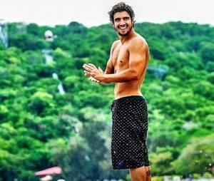 Caio Castro tem muita saúde!