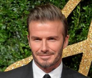 A barba de David Beckham é mundialmente conhecida