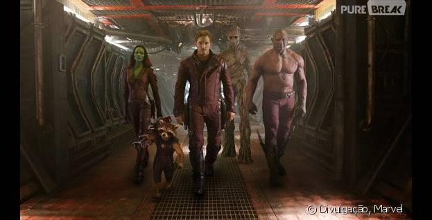 """Chris Pratt é o grande protagonista de """"Guardiões da Galáxia"""""""