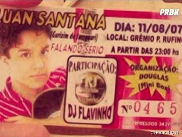 Ingresso do primeiro show do Luan Santana