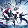 """O time de Steve Rogers (Chris Evans), em """"Capitão América 3: Guerra Civil"""", tá cheio de gente responsa!"""