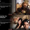 """Novelas na Netflix: """"Os Dez Mandamentos"""" e """"Rei Davi"""" estão no catálogo da Netflix"""