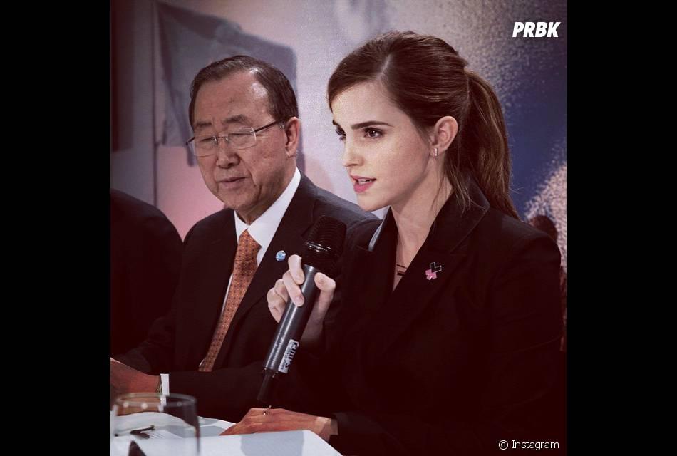 Emma Watson também é conhecida por ser defensora dos direitos da mulher!