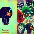 """""""Deadpool"""" ou """"Esquadrão Suicida""""? Produção da Fox imitou os mercenários da DC Comics em um cartaz"""