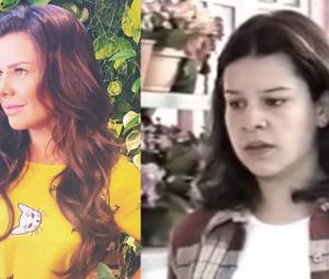"""Fernanda Souza, de """"A Regra do Jogo"""", começou sua carreira de atriz no SBT como a Mili na primeira versão da novela """"Chiquititas"""""""