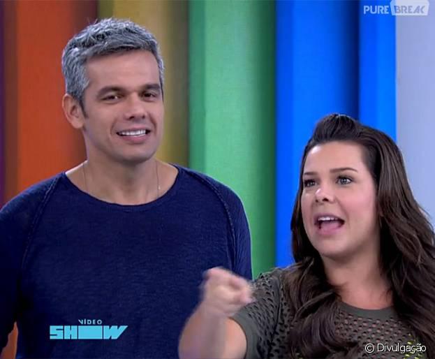 """Fernanda Souza, de """"A Regra do Jogo"""", é uma das favoritas pra assumir comando do """"Vídeo Show""""!"""
