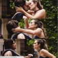 """Em """"Totalmente Demais"""", Cassandra (Juliana Paiva) já tentou se aproximar de Rafael (Daniel Rocha) por interesse"""