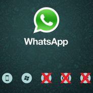 Whatsapp não terá mais suporte para Android, BlackBerry, Nokia Symbian e Windows Phone. Entenda!