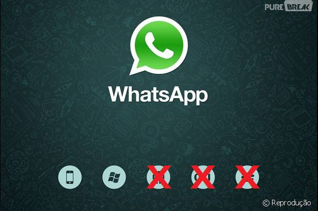 Whatsapp tá caindo fora dos sistemas operacionais pequenos!