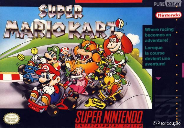"""Game """"Super Mario Kart"""" é uma das novidades que acaba de chegar ao New Nintendo 3DS!"""